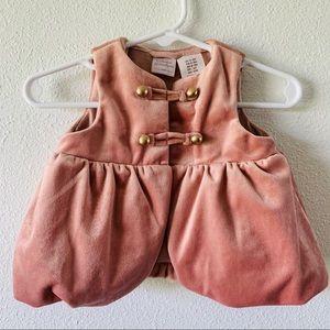 Catherine Malandrino MiniBlush Military Style Vest